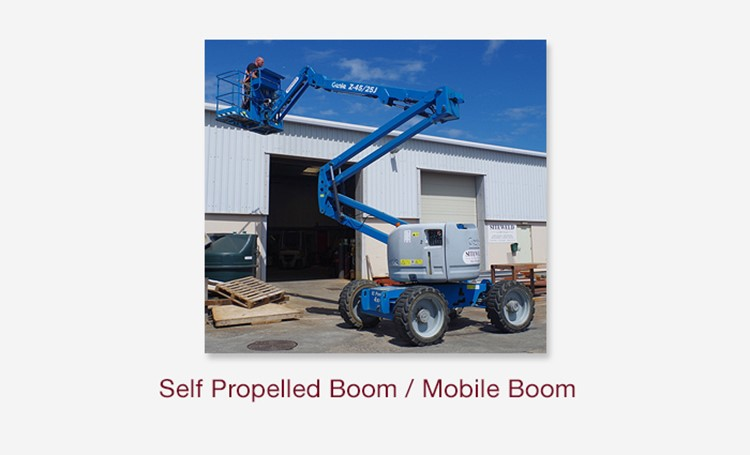 Self Propelled Boom